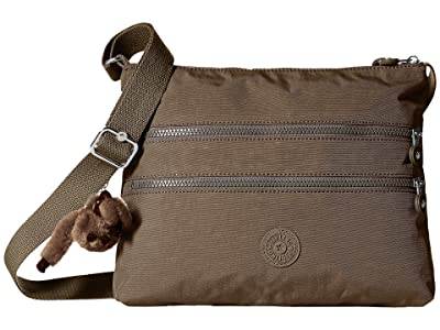 Kipling Alvar Crossbody Bag (Soft Earthy Beige) Cross Body Handbags