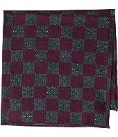 Eton - Tight Medallion Pocket Square