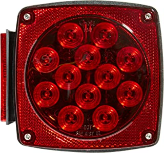 Grote 51992 Red Submersible LED Trailer Lighting Kit (Replacement LH Stop Tail Turn)