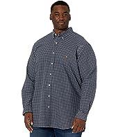 Big & Tall Classic Fit Tattersall Oxford Shirt