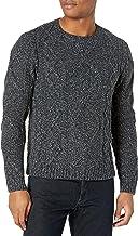 PAIGE Men's Westcliff Cable Knit Crewneck Sweater
