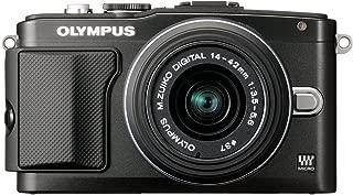 Olympus E-PL5 Interchangeable Lens Digital Camera with 14-42mm Lens (Black) - International Version (No Warranty)