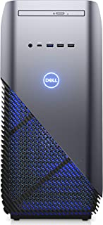 Dell Inspiron 5000 游戏桌面 - (Recon Blue)MFD9H Intel Core i5-8400, NVIDIA GeForce GTX 1060 3 GB