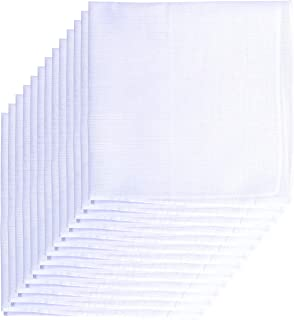 13 Pack Men's Fine Handkerchiefs