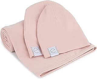 blush swaddle blanket