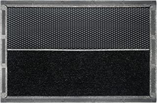366 Extra Large Door Mat with Anti-Slip Resin Material - Outdoor Rubber Mats and Waterproof Rug Ideal for Garage, Entrywa...