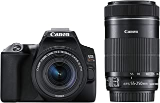 Canon デジタル一眼レフカメラ EOS Kiss X10ブラック(W)・ダブルズームキット