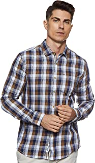 Amazon Brand - Inkast Denim Co. Men's Slim fit Casual Shirt