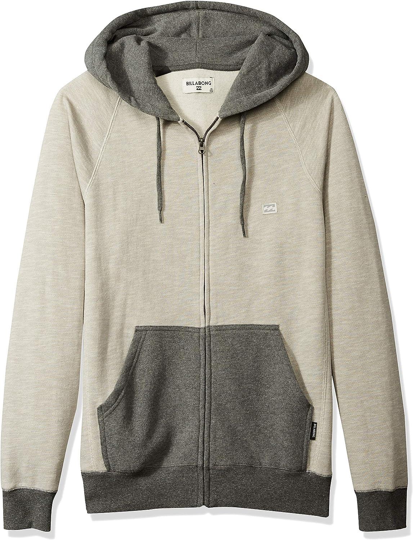 BILLABONG Mens Balance Zip Hoody Hooded Sweatshirt