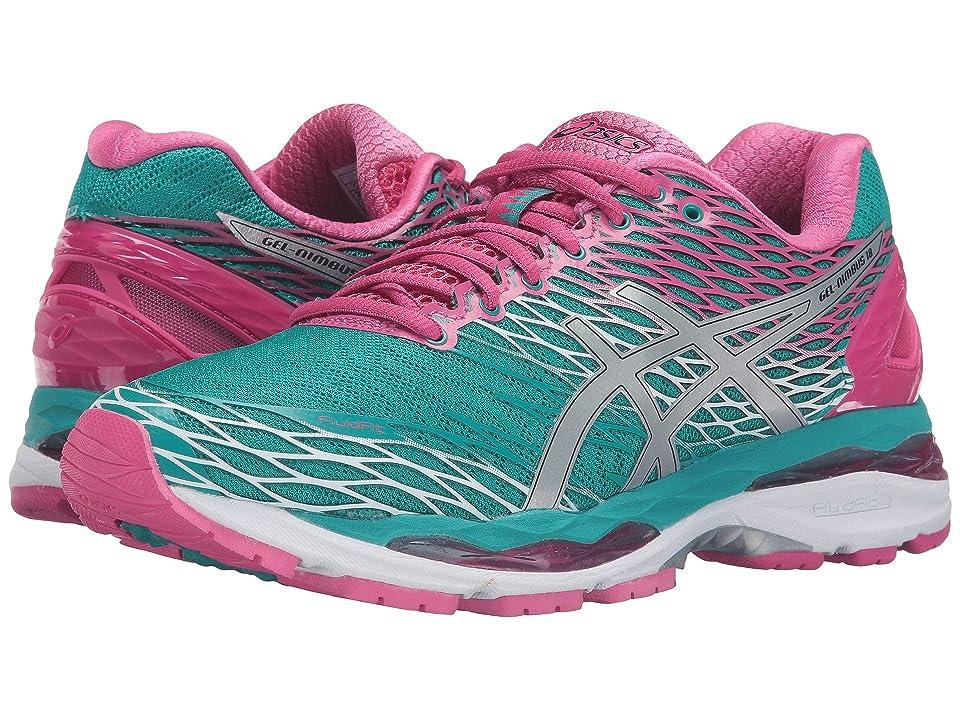 ASICS Gel Nimbus(r) 18 (LapisSilverSport Pink) Women's