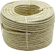 Future 213260 sisal touw, 4 strengen, 10 mm x 100 m