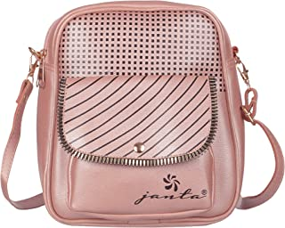 Janta PU Leather Side Sling Bag For girls and Women