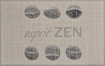 Tapis Deco MAT 50X80 Printed Esprit Zen, Fabric, Multicolour