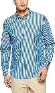 TOMMY HILFIGER Men's Button Down Slim Fit Poplin Shirt