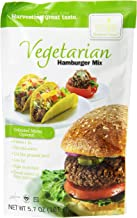 Harmony Valley Vegetarian Hamburger Mix, 5.7-Ounce (Pack of 6), Soy Based Protein Meat Substitute, Easy to use just like ground beef