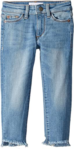 DL1961 Kids Chloe Skinny Jeans in Ocean Drive (Toddler/Little Kids)