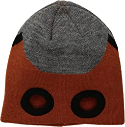 KNK3516 Beanie with Cut Out Eyes (Little Kids/Big Kids)