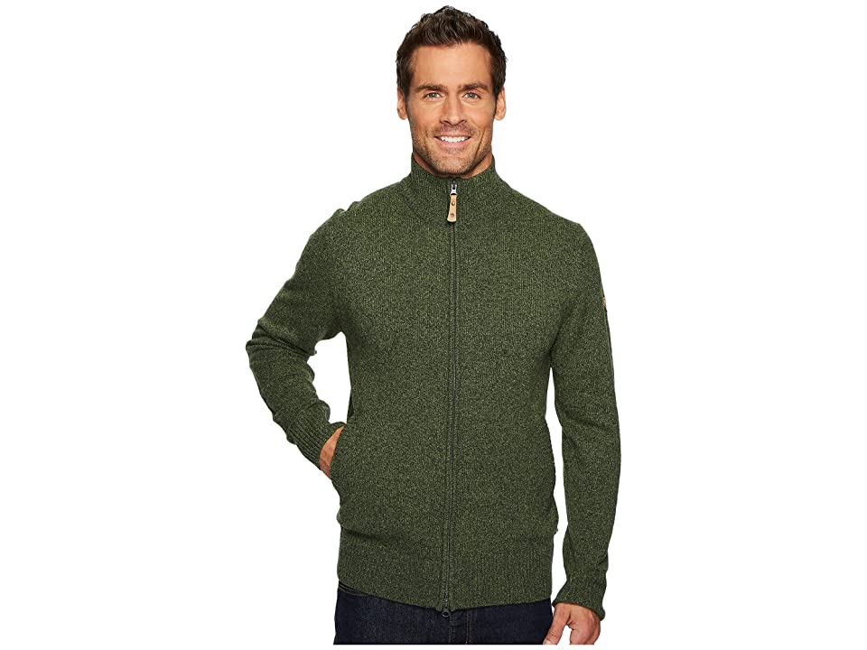 Fjallraven Ovik Cardigan (Olive) Men