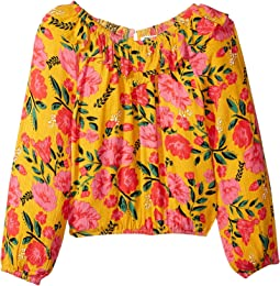 Floral Fields Blouse (Little Kids/Big Kids)