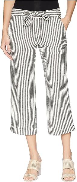 Sasha Stripe Crop Pants