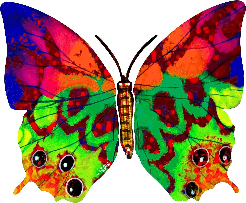 Lowest price challenge David Gerstein HAVA Butterfly Metal Cutout Mounted Sculptur Wall service