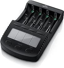 Cargador de Pilas   Estación de Carga de batería Recargables Universal de Ni-MH Typoi AA AAA   Charger   para Pilas de Iones de Litio   Ni-MH Ni-CD   Pantalla LCD con iluminación de Fondo