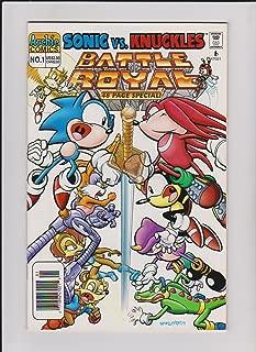 Sonic vs. Knuckles Battle Royal No. 1 (Sonic vs. Knuckles, No. 1)