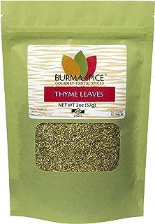 Thyme Leaves : Dried Herb, Spice, Seasoning : Kosher (2oz.)