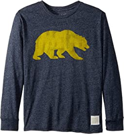 The Original Retro Brand Kids - Cal Bears Mocktwist Long Sleeve Tee (Big Kids)