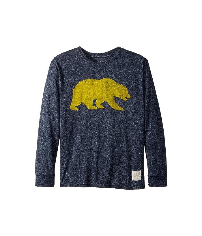 Big Kids The Original Retro Brand Kids Boys Cal Bears Mocktwist Long Sleeve Tee