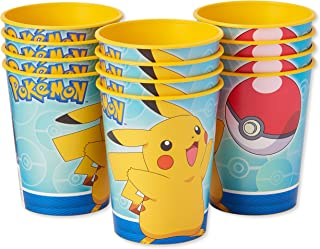 American Greetings Pokemon Party Supplies, Plastic Party Cups (12-Count)