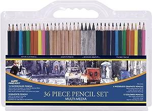Pro Art 36-Piece Artist Pencil Set