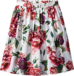 Poplin Peonie Skirt (Big Kids)