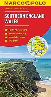 Southern England Wales Marco Polo Map (Marco Polo Maps)