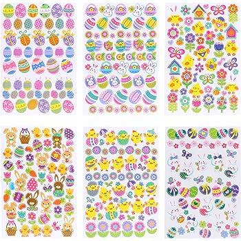 /Œufs Peintres et Sticker pour env Heitmann /œufs Couleurs 30058/ Oeuf Couleur avec Stylo Magique /Kit de Bricolage P/âques 4/pi/èces 45/P/âques Magique