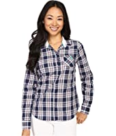 U.S. POLO ASSN. - Cotton Poplin Plaid Long Sleeve Woven Shirt