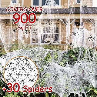 Best cobweb halloween decorations Reviews