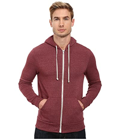 Alternative Rocky Zip Hoodie (Eco True Currant) Men