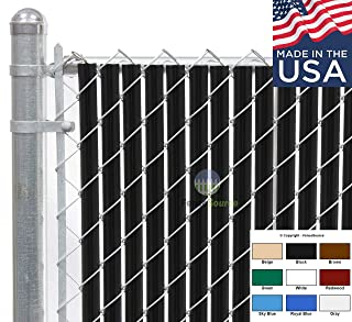 Best chain link fence insert Reviews