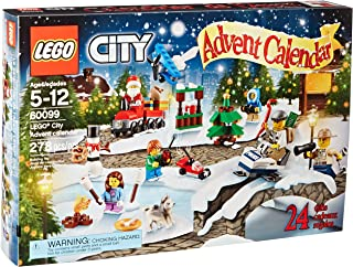 LEGO City Town 60099 Advent Calendar Building Kit(Discontinued by manufacturer)