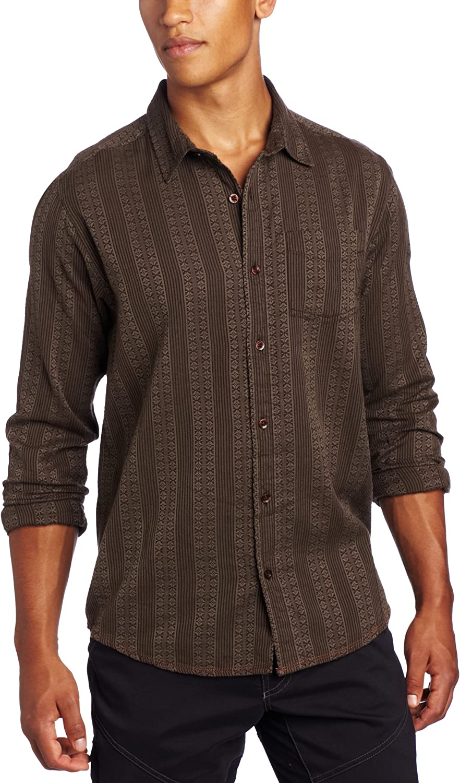 Prana Men's Agave Long 25%OFF 新作 Woven Shirt Sleeve
