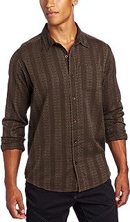 قميص رجالي منسوج بأكمام طويلة من برانا