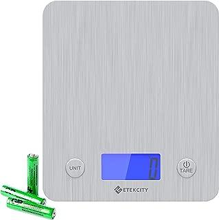 Etekcity EK6211 Kitchen Weight Scale, Large, Silver