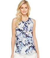 Karen Kane - Front Pleat Sleeveless Top