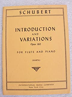 Schubert Introduction and Variations (Opus 160) on