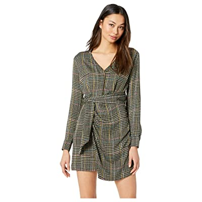ASTR the Label Yuri Dress (Sage/Multi Plaid) Women
