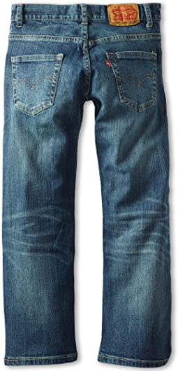 505™ Regular Jeans (Big Kids)
