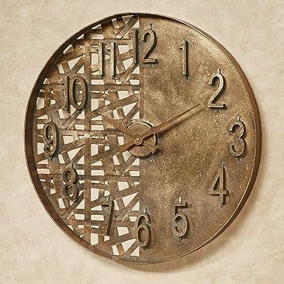 Touch of Class Evolution Wall Clock Dark Gold