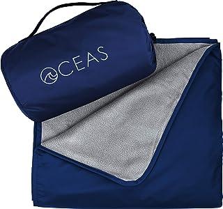 Outdoor Waterproof Blanket by Oceas – Warm Fleece Great for Camping, Outdoor Festival,..