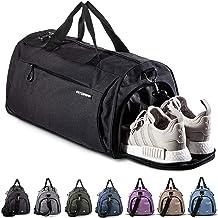 Fitgriff® Sac de Sport avec Compartiment Chaussures - Femme et Homme - Sac a Main pour Voyage, Weekend, Gym, Fitness, Musc...